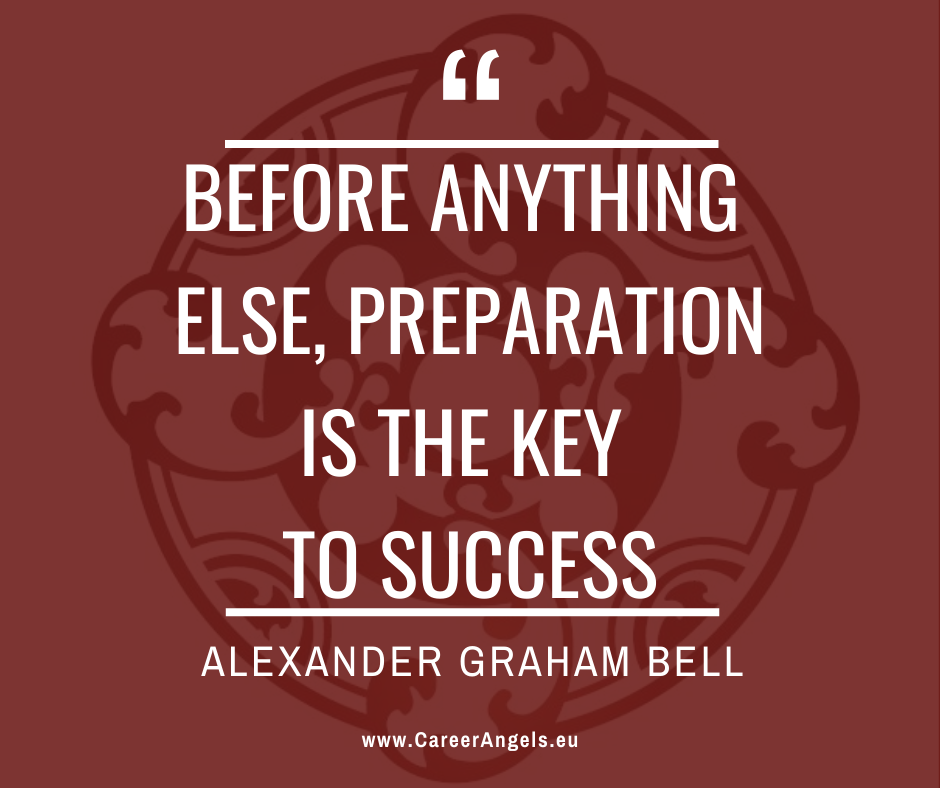 """Inspirational quotes: """"Before anything else, preparation is the key to success"""" Alexander Graham Bell"""