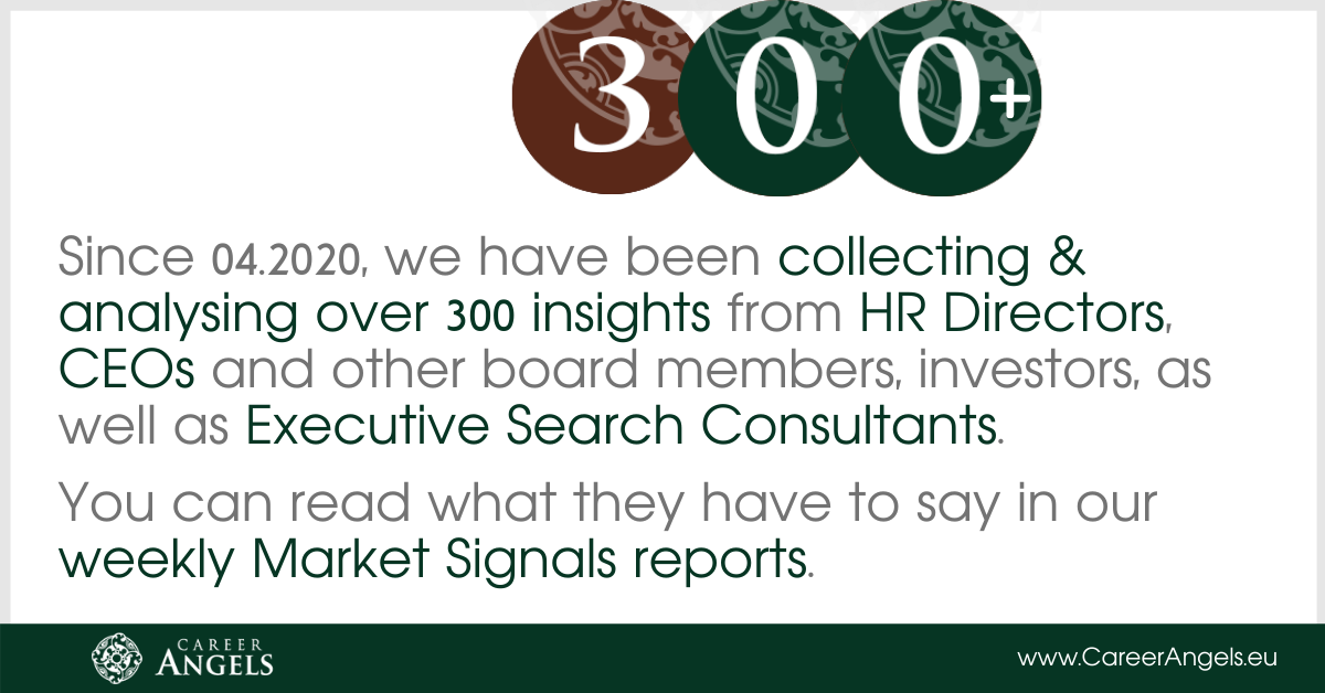 Career Angels has been collecting & analysing over 300 insights from experienced managers and executives