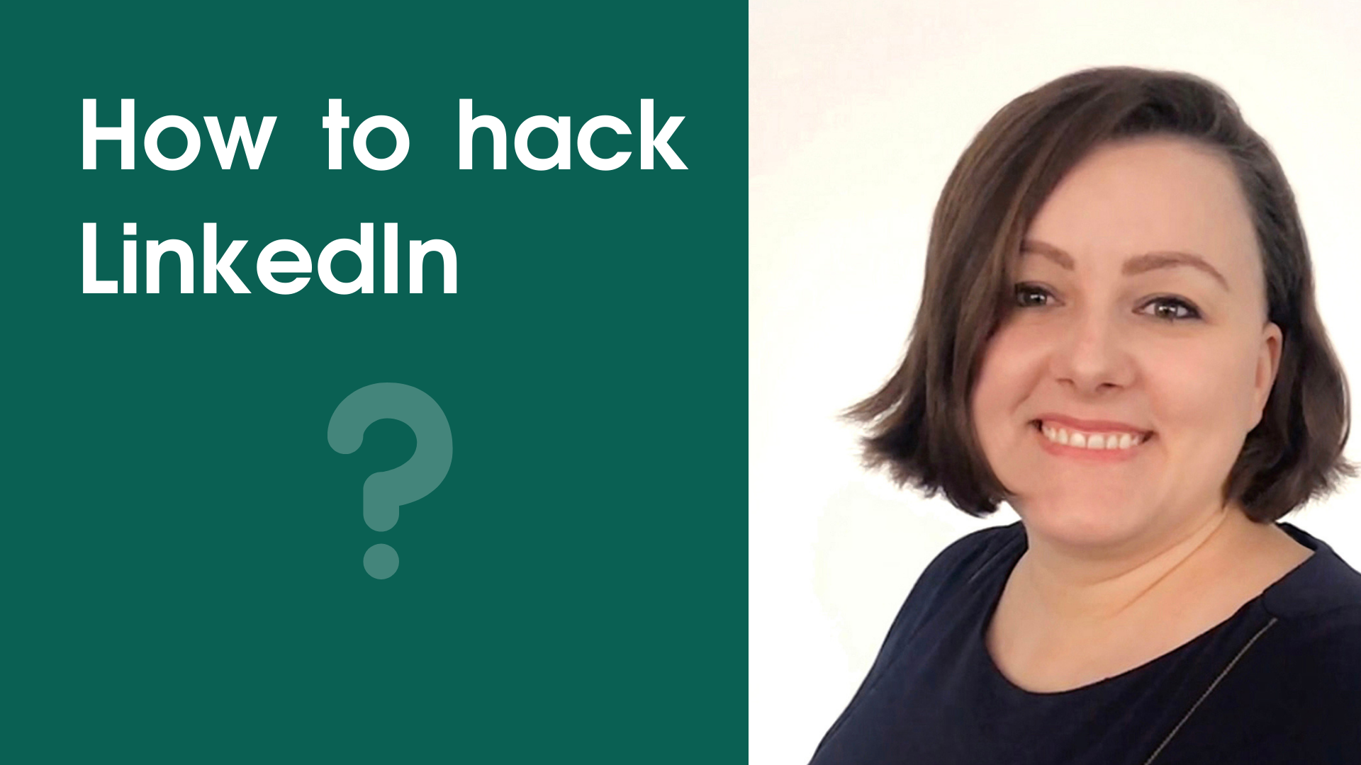 How to hack LinkedIn? (video)
