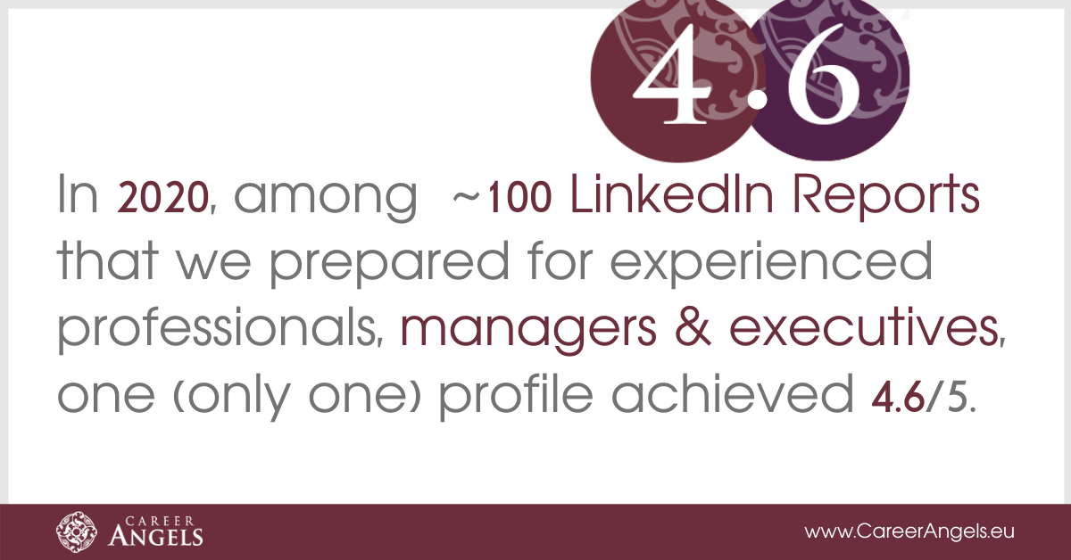 LinkedIn Reports for experienced managers and executives