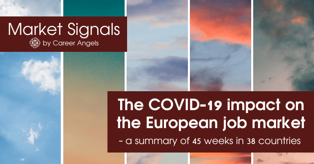 The COVID-19 impact on the European job market - a summary of 45 weeks