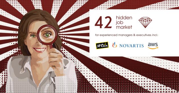 Hidden Job Market - job ads for executives across Europe (week 7 2021)