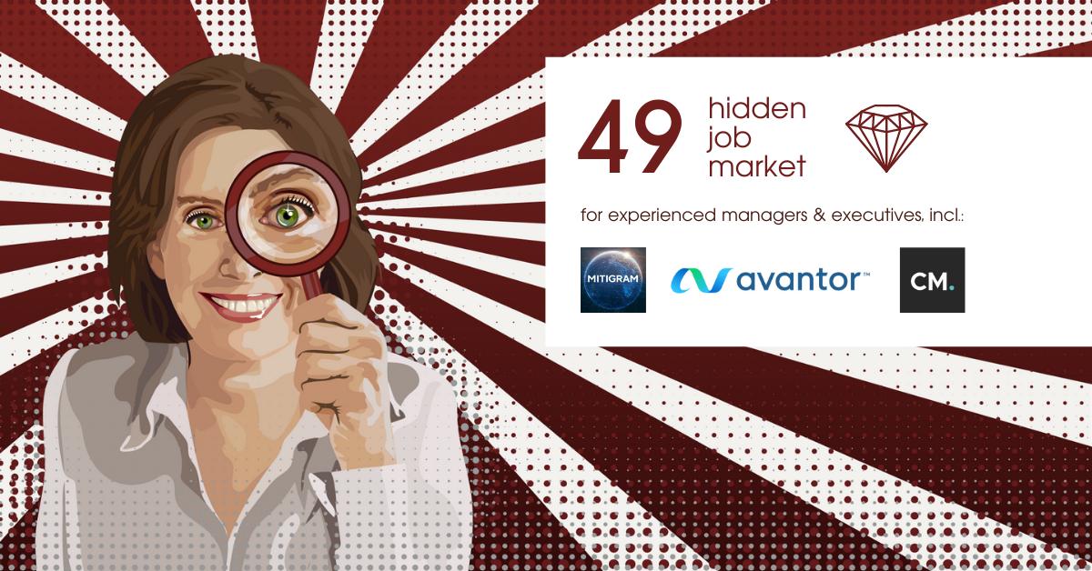Hidden Job Market - job ads for executives across Europe (week 9 2021)