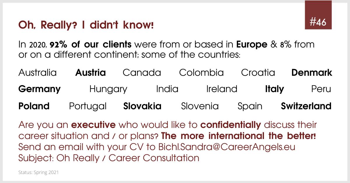 Origin of our clients