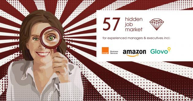 Hidden Job Market - job ads for executives across Europe (week 19 2021)