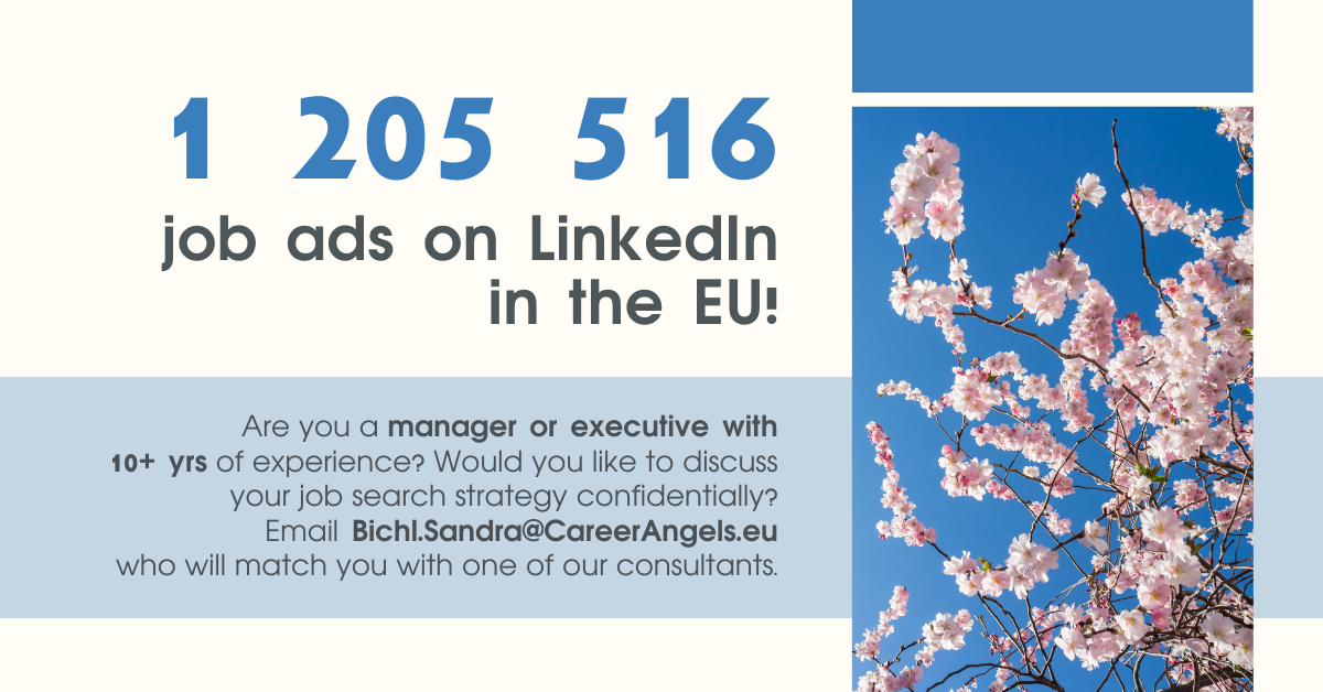 Job Ads for an experienced manager on LinkedIn in the EU