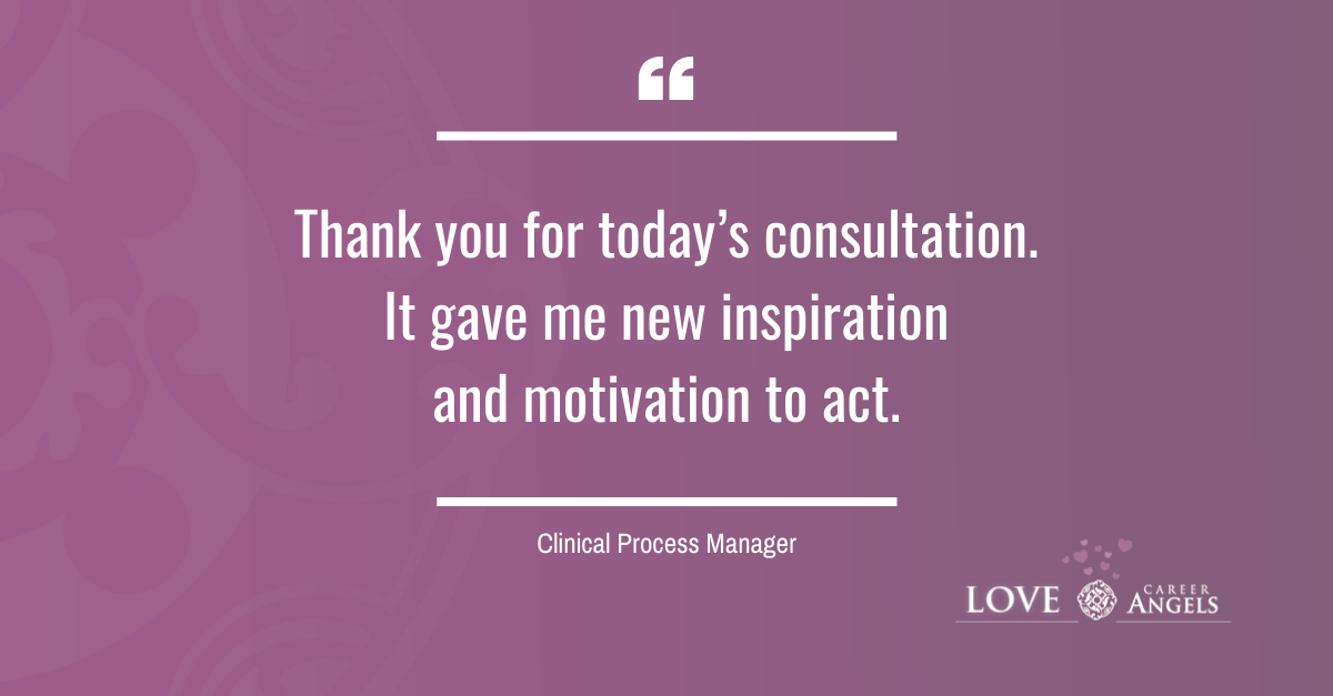 Love Letters to Career Angels from a Clinical Process Manager about a career consultation