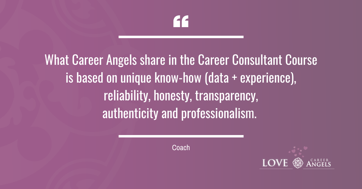 Love Letters to Career Angels from a Coach about the Career Consultant Course
