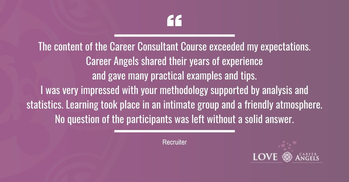 Love Letters to Career Angels from a Recruiter about the Career Consultant Course