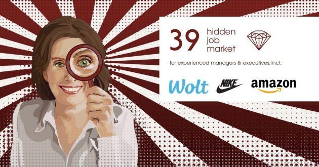 Hidden Job Market - job ads for executives across Europe (week 23 2021)