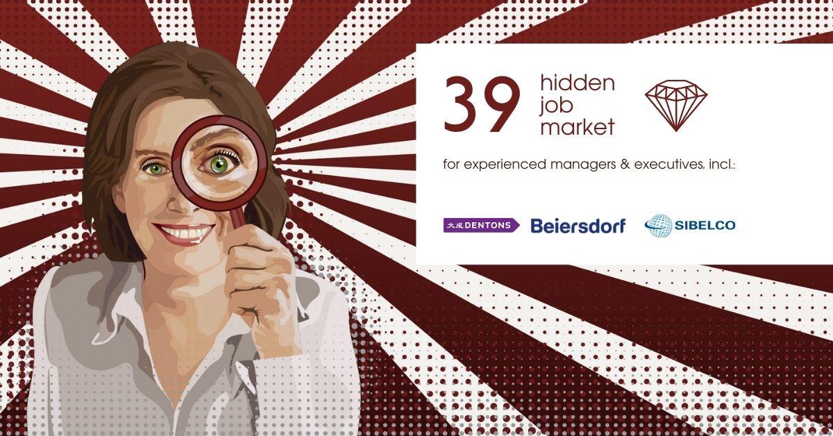Hidden Job Market - job ads for executives across Europe (week 26 2021)