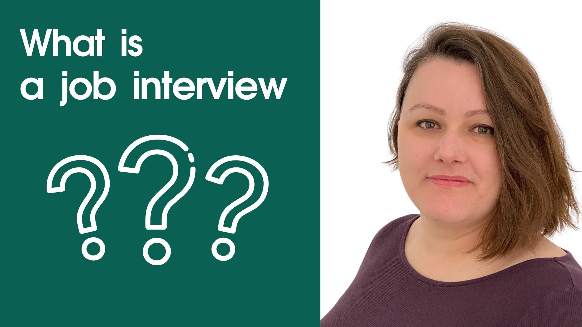 How a job interview looks like? (video)