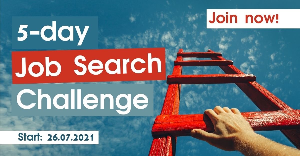 Join our 5-day Job Search Challenge! by Career Angels