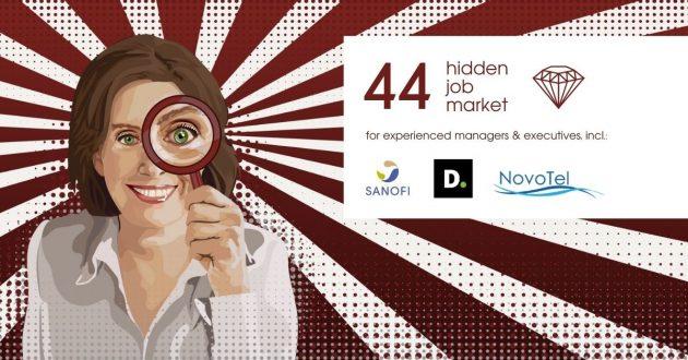 Hidden Job Market - job ads for executives across Europe (week 28 2021)