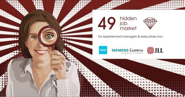 Hidden Job Market - job ads for executives across Europe (week 29 2021)