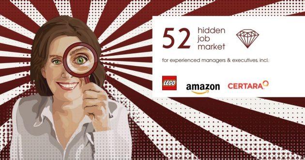 Hidden Job Market - job ads for executives across Europe (week 27 2021)