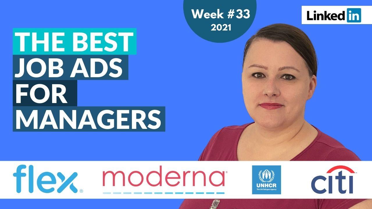 Hidden Job Market Highlights - top job offers from Linkedin [Week 33, 2021]