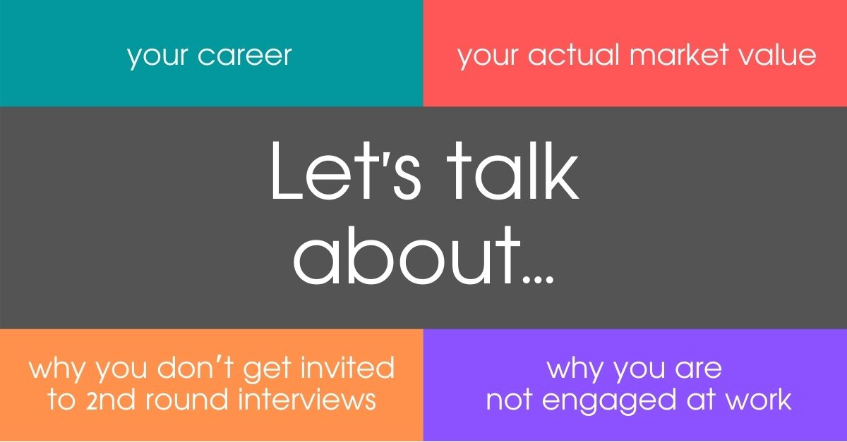 Let's talk about… your career