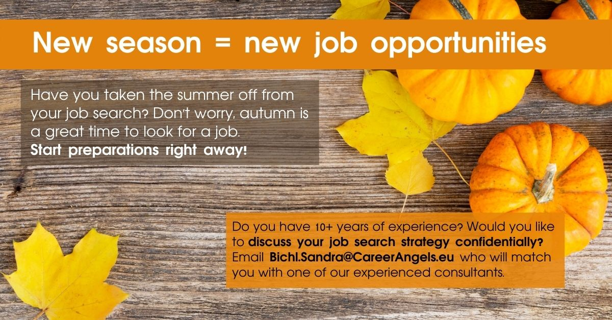 Job Search Strategy for an experienced manager