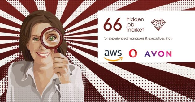 Job ads for experienced managers & executives across Europe from Hidden Job Market by Career Angels